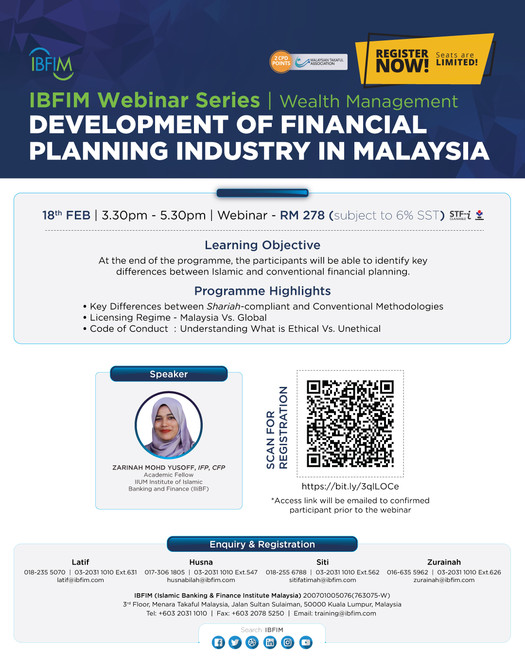 Development of Financial Planning Industry in Malaysia