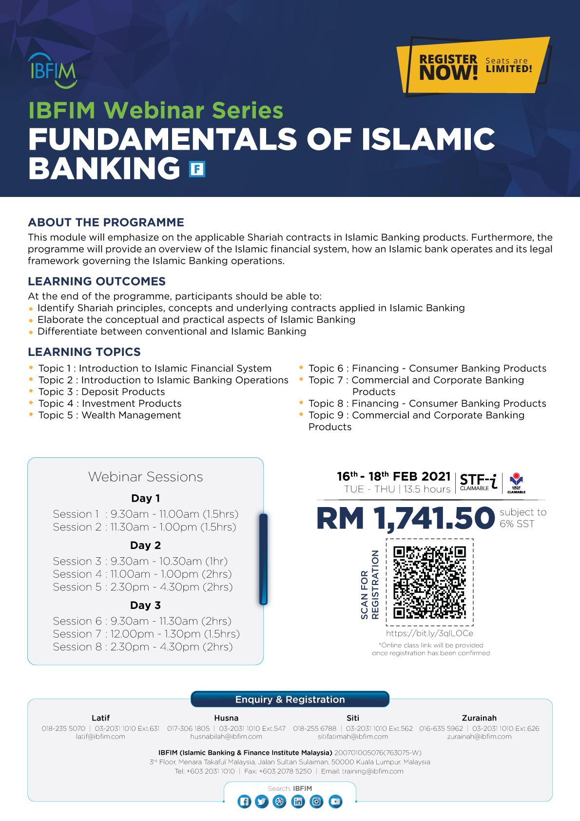 FCIBT -Fundamentals of Islamic Banking