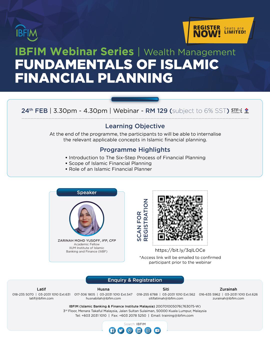 Fundamentals of Islamic Financial Planning
