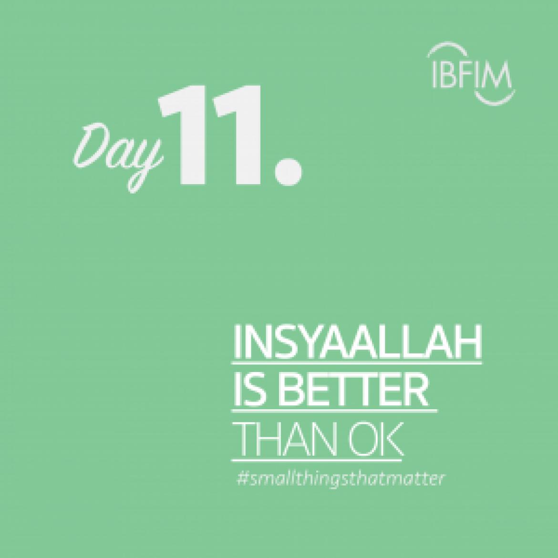 Ramadan Daily #smallthingsthatmatter