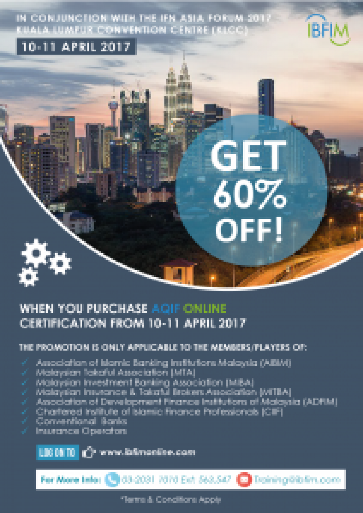 IFN Asia Forum 2017, 10 – 11 April 2017