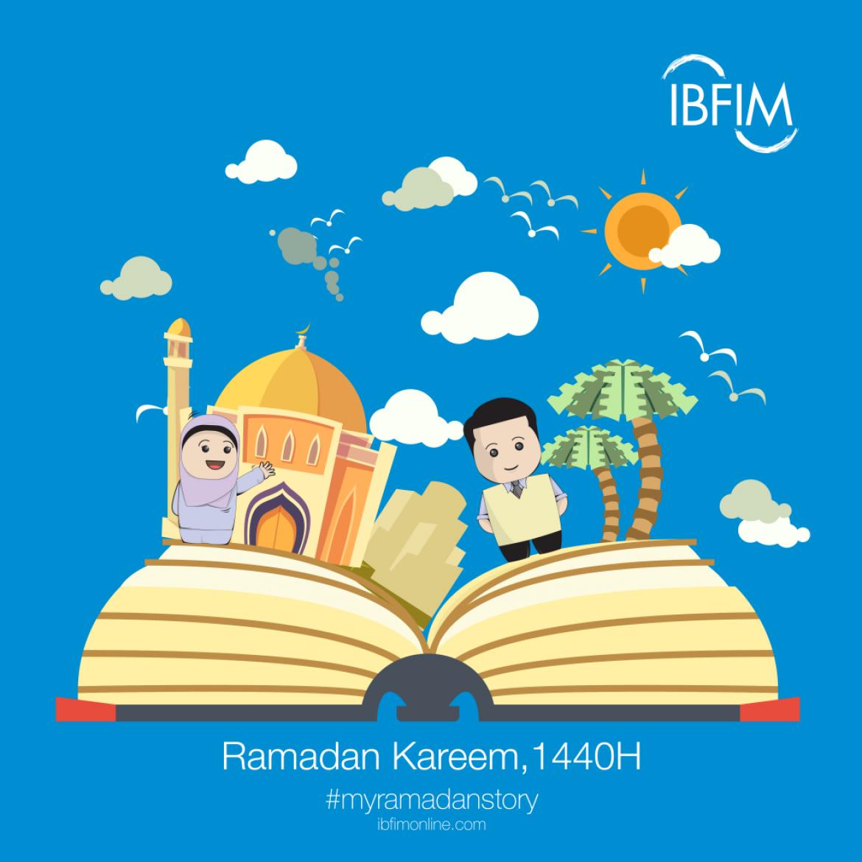 Ramadan 1440H:  #myramadanstory by Aqeef and Fiqa