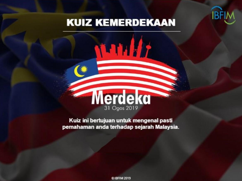 Kuiz Kemerdekaan 2019